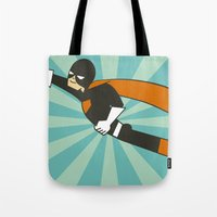 superheroes Tote Bags featuring Superheroes! by EloisaD
