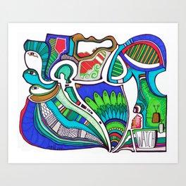 Watch! Art Print