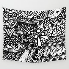 Doodle 13 Wall Tapestry