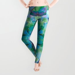 Mandalas of Healing and Awakening 10 Leggings