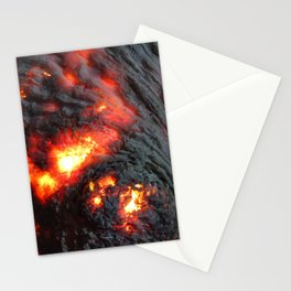 Flaming Seashell 4 Stationery Cards