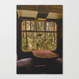TRAIN JOURNEY Canvas Print