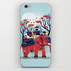 A Colorful Ride iPhone Skin