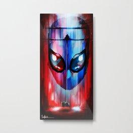 Spider-Man - Gwen Stacey's Death Metal Print
