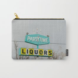 Teal Liquor - Casper, WY Carry-All Pouch