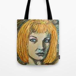 Leeloo Noir Tote Bag