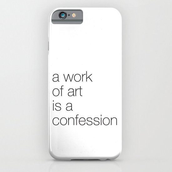 work of art iPhone & iPod Case