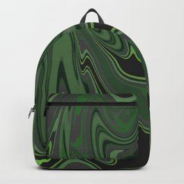 Distorted stripes in colour 1 Backpack