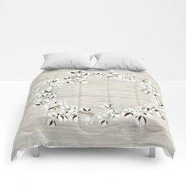 Cotton Wood Wreath Comforters