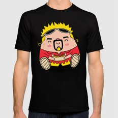 Kuwaii Fieri Mens Fitted Tee LARGE Black
