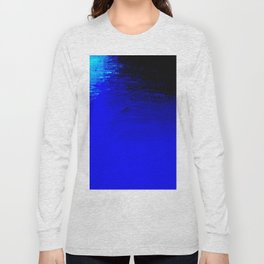 Moon Casting in to the Sea Long Sleeve T-shirt