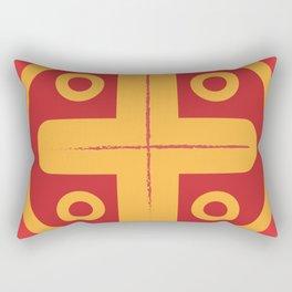 Aztec Gold Rectangular Pillow