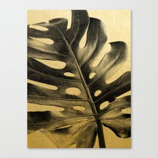 Golden Palms 02 Canvas Print