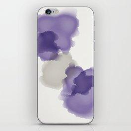 Purple Splash iPhone Skin