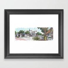 Second Street, Davis Framed Art Print