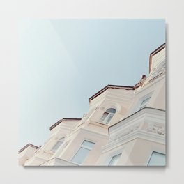 Stucco Metal Print