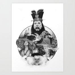 Big trouble Art Print