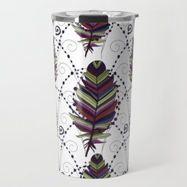 Dance of Feathers Travel Mug