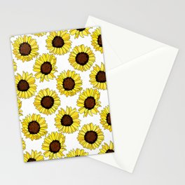 Sunflowers are the New Roses! - White Stationery Cards