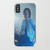 harry styles iPhone & iPod Cases featuring Harry Styles by Halle