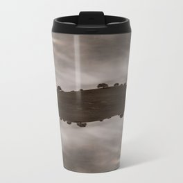 the sky is acting funny Metal Travel Mug