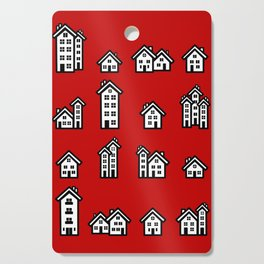 Little Houses Cutting Board