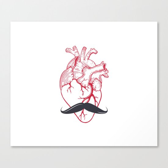 Hipster at heart Canvas Print