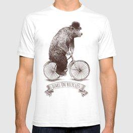 Bears on Bicycles T-shirt