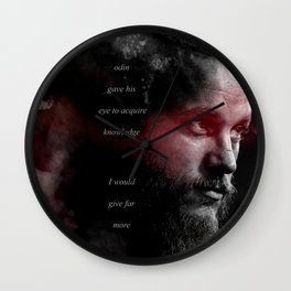 Odin Gave His Eye Wall Clock