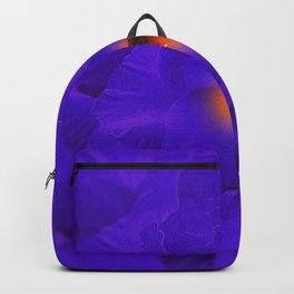Sword Lily Purple Kaleidoscope Backpack