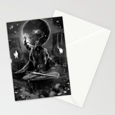 I. The Magician Tarot Card Illustration Stationery Cards