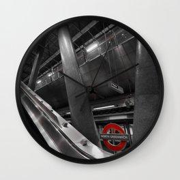 Monochrome Underground  Wall Clock