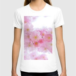 Pink Japanese Cherry Tree Blossom T-shirt