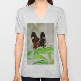 Butterfly Pair Unisex V-Neck