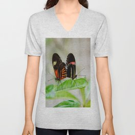Butterfly Pair Unisex V-Neck