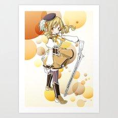 Mami Tomoe Art Print