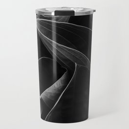 Silver lined leaves Travel Mug