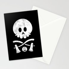 Camp Survival Stationery Cards