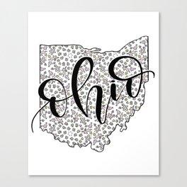 Ohio Love Canvas Print