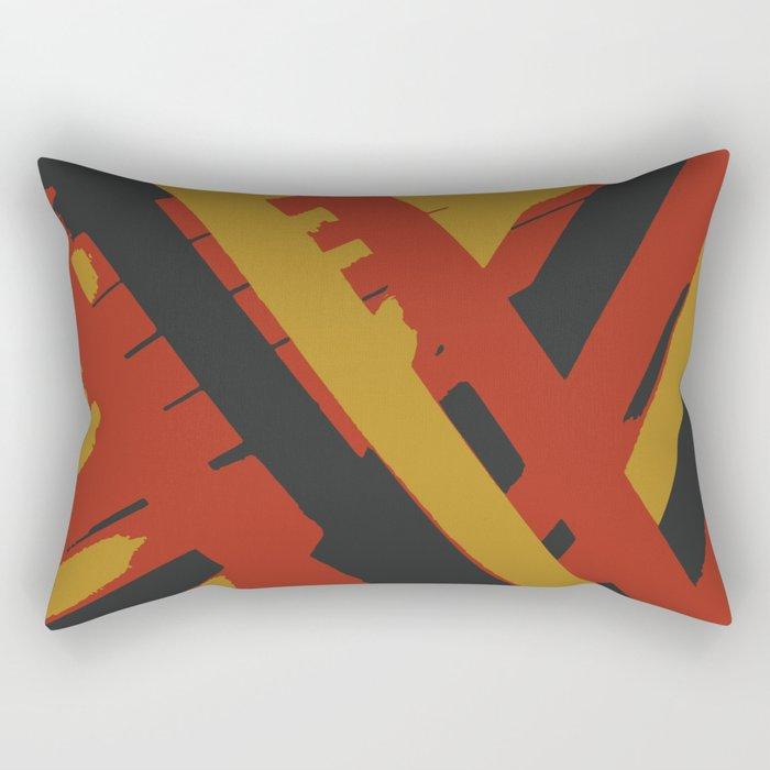 Pick Up Sticks Rectangular Pillow