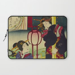 A day of twelve months in Yoshiwara Laptop Sleeve