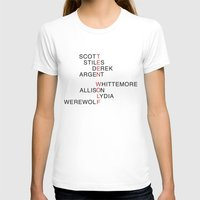teen wolf T-shirts featuring Teen Wolf  by Dan Lebrun