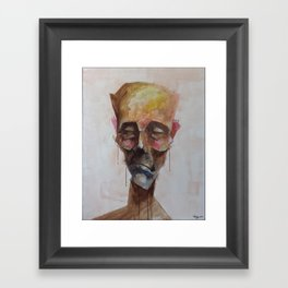 Drowsy Portraits - Unplugged Framed Art Print