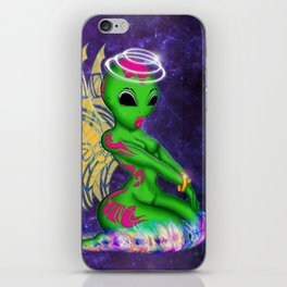 Alien Angel iPhone Skin