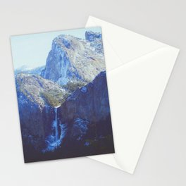 vintage hipster Yosemite outlook Stationery Cards