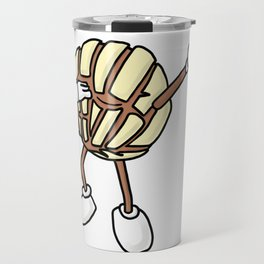 Vanilla Concha Dab Mexican Bread Holiday Travel Mug