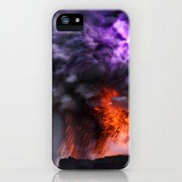 Kilauea Volcano at Kalapana 7 iPhone Case