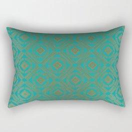Pattern_Gold Rectangular Pillow