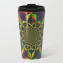 Kaliedoscope of Color Travel Mug