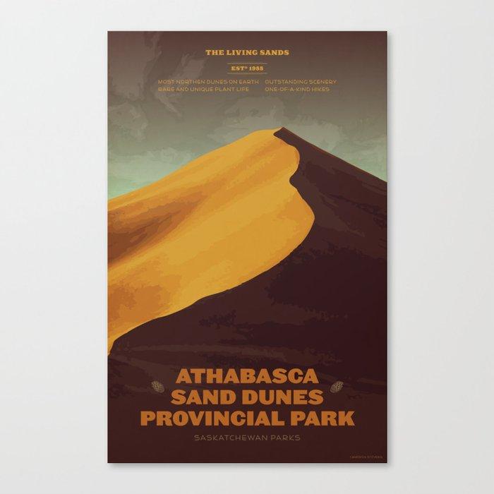 Athabasca Sand Dunes Poster Leinwanddruck